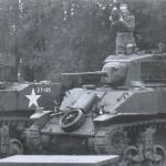 Januszajtis przy pracy. Niemcy, 1945.