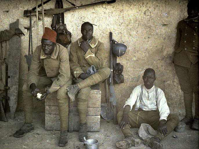 Fot. World War I Color Photos
