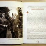 """Arkady Fiedler z Witoldem Urbanowiczem na stronie wydania oficyny """"Bernardinum"""""""