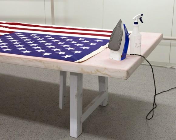 Amerykańska flaga, jaka... Fot. Philip Cheung (za philipcheungphoto.com)