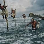 Rybacy ze Srilanki. Fot. Steve McCurry (za picasaweb)