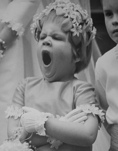 Druchna podczas ślubu. 1967 r. Fot. Clive Limpkin (za clivelimpkin.com)
