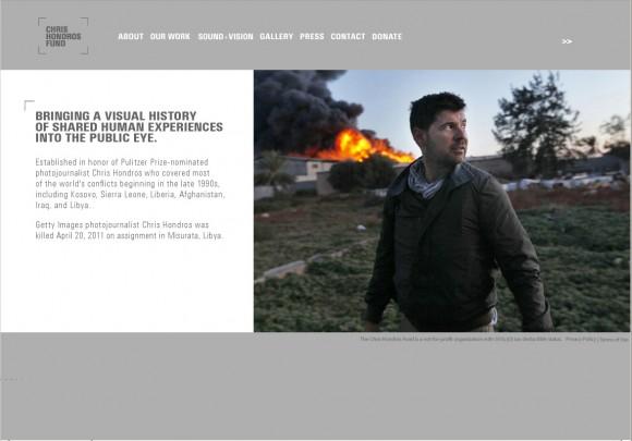 Strona Fundacja Chrisa Hondrosa