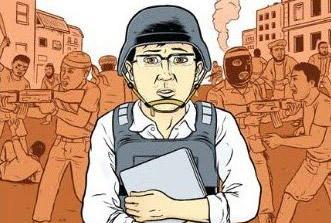 Świat korespondenta – komiks