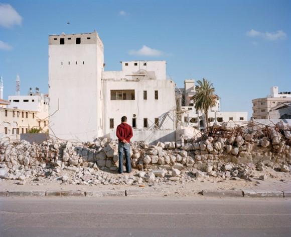 "Z cyklu ""Gaza - straszne miasto"". fot. Heinrich Völkel (za bildwerk3.de)"
