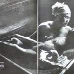 Strona tygodnika LIFE z fotoreportażem Eugene'a Smitha