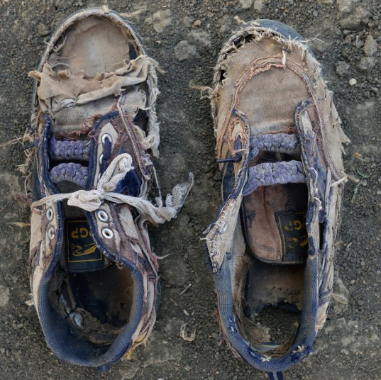 Muhammed Hajana szedł przez 30 dni z Tiful. Ma 30 lat. Fot. Saron Jensen (za shannon-jensen.com)