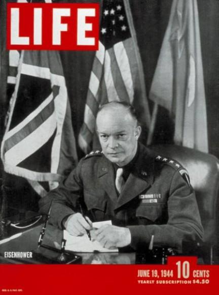 Okładka magazynu Life z 19.06.1944 z fotoreportażem Roberta Capy. (fot. za life.com)