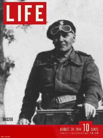 Możliwa Okładka magazynu Life z 28.08.1944 z fotoreportażem o kotle Falaise. (fotomontaż)