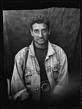 Didier Lefevre fotoreporter podczas jednego z późniejszych wyjazdów do Afganistanu. (fot. za Wikipedia)