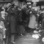 Piłsudski w Warszawie, 12.12.1916 r. (fot. Marian Fuks, Archiwum IKC, za NAC)