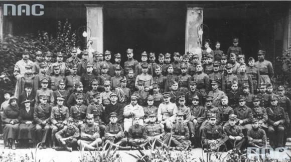 Gen. Haller w 1920 r. (fot. Marian Fuks, Archiwum IKC, za NAC)